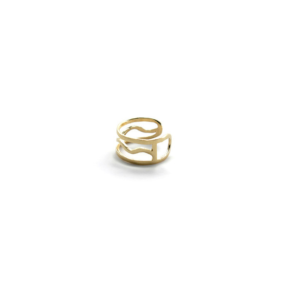 Alynne Lavigne Wave Ring