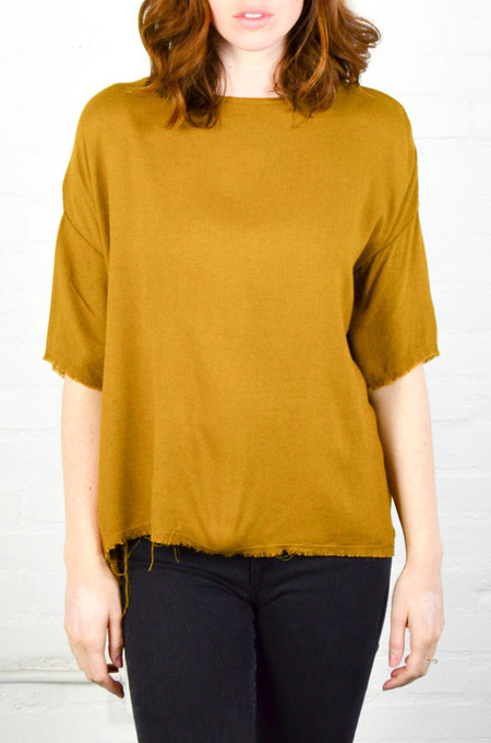 Black Crane Gold Brown Square Top