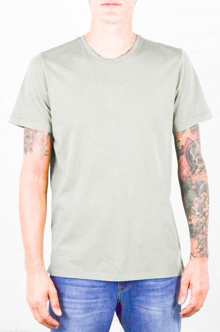 Men's FRAME Denim FRAME Olive Classic Crew Neck Tee