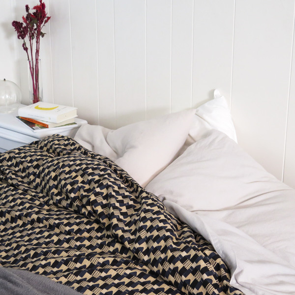 "Erica Tanov ""was black"" duvet cover"