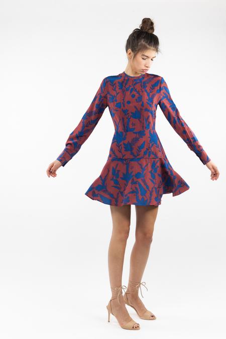 Tanya Taylor Odette Dress - Rust
