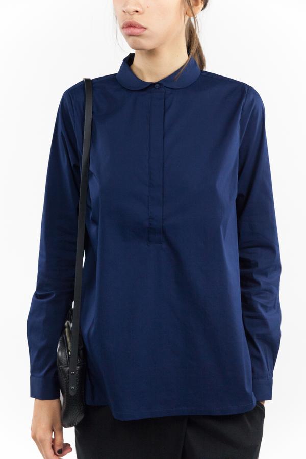 just female Anna Shirt - Dress Blue
