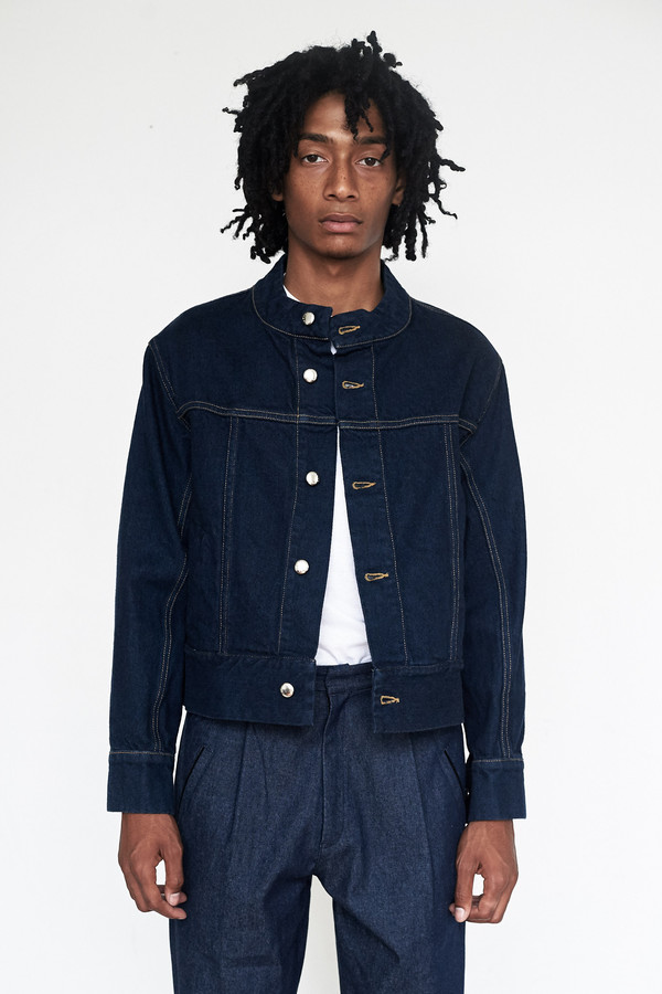 Men's Eckhaus Latta Denim El Jacket