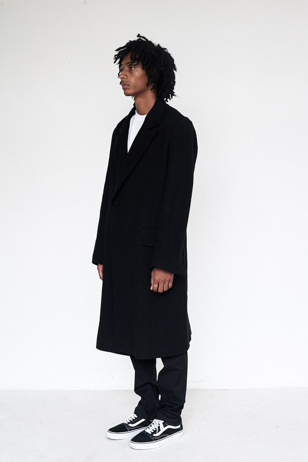 Unisex Assembly New York Wool Bruxelles Overcoat