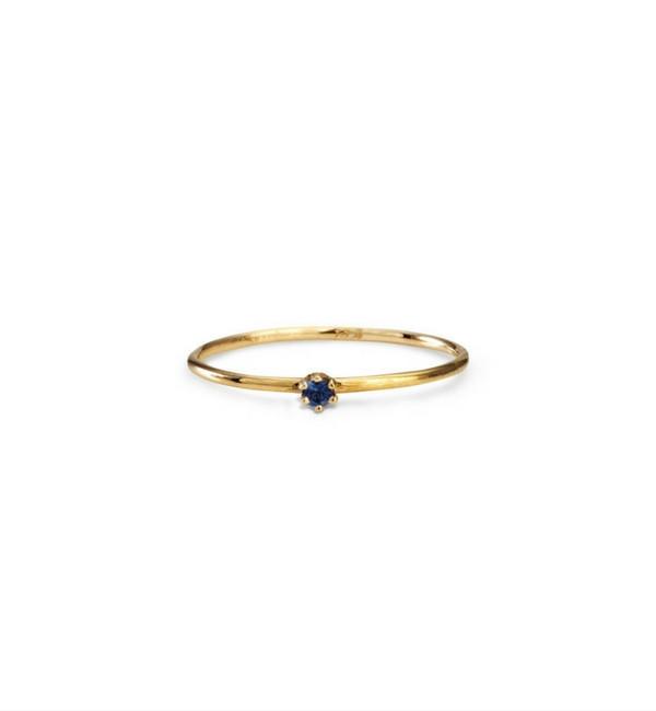 Satomi Kawakita Baby Sapphire Ring