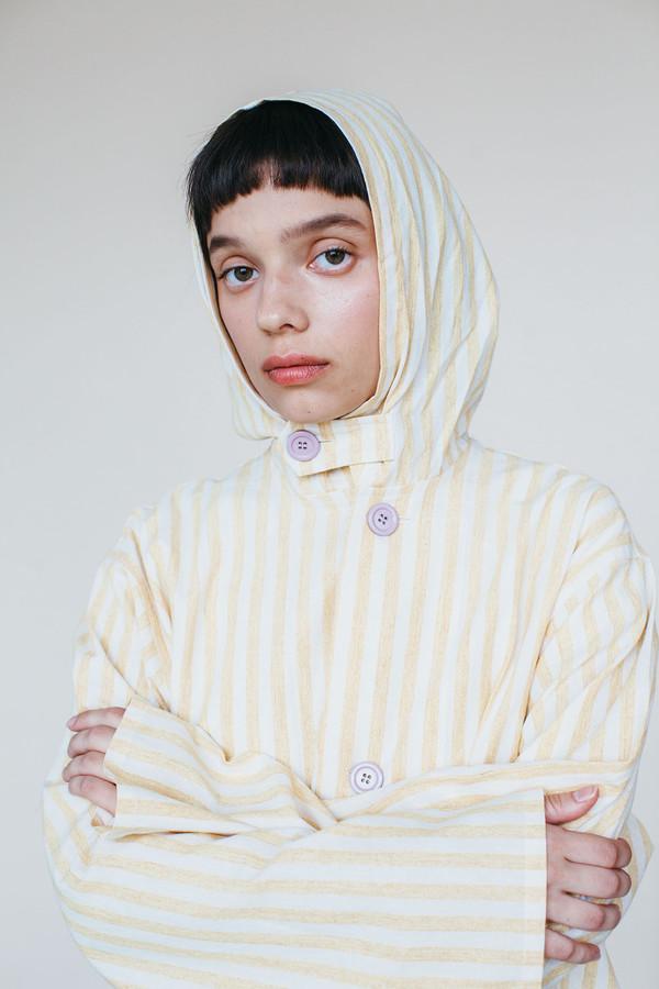 Samantha Pleet Panorama Jacket - Yellow Stripe