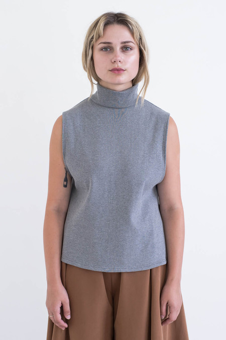 REIFhaus Aros Sweater in Heather Rib Knit