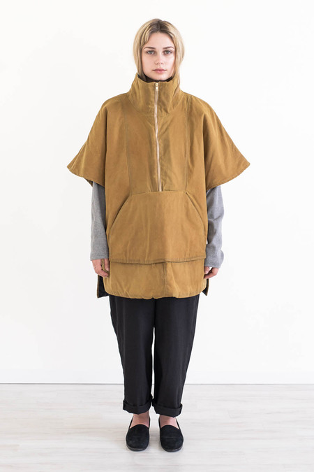 REIFhaus Cascadia Poncho in Waxed Canvas