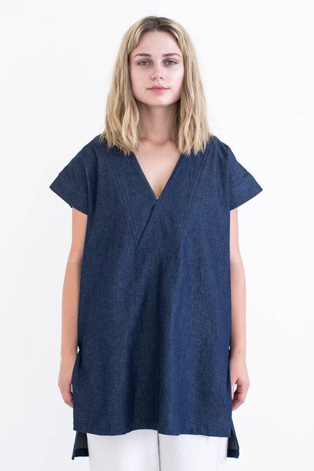 REIFhaus Porto Tunic in Indigo Denim