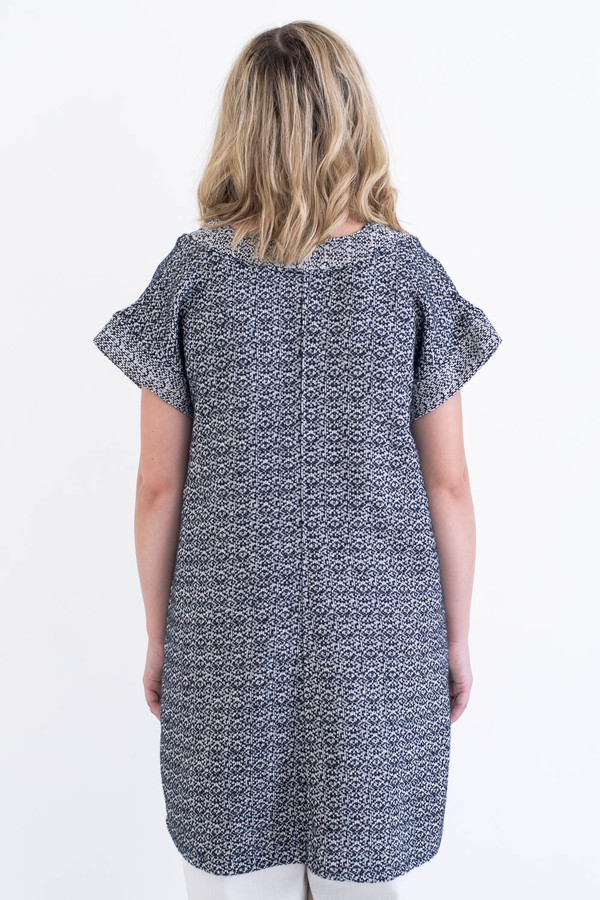 REIFhaus Porto Tunic in Wool Tweed