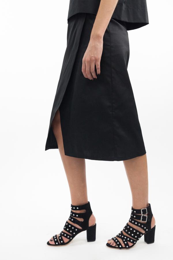 Toit Volant Valentina Skirt - Black