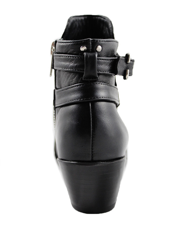 Cartel Footwear AW16 Jodphur Boot - Bella Black Leather