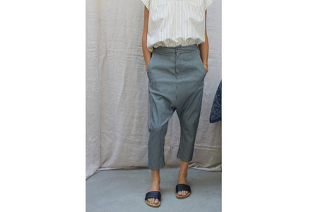 Military Pant in Railroad Stripe
