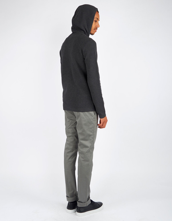 Men's Minimum Duppa Knit Dark Grey Melange