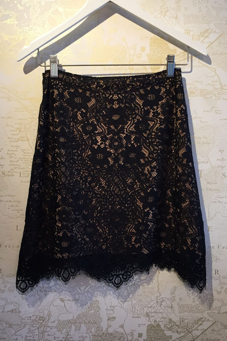 For Love & Lemons 'Rosemary' lace skirt