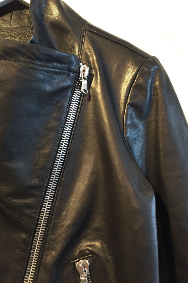 Veronica Beard 'Mission' swing back leather jacket