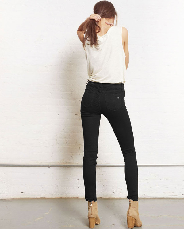 Rag & Bone - HIGH RISE SKINNY