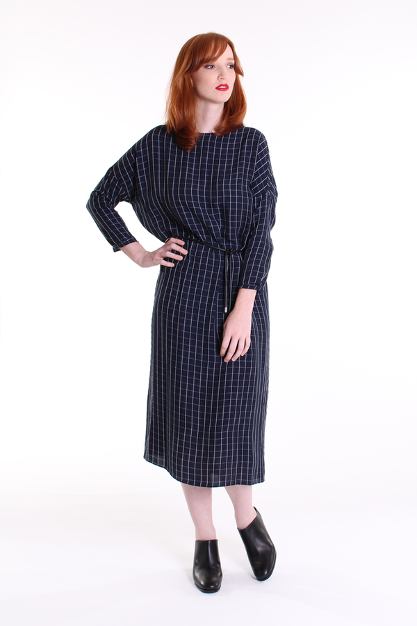 Steven Alan Dawn dress in navy