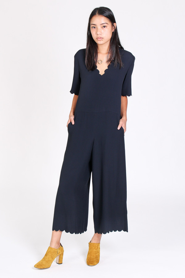 M.i.h Jeans Hart all-in-one jumpsuit in navy