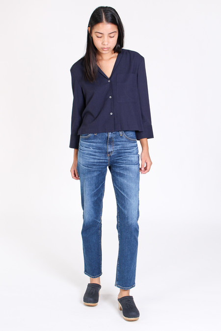 Steven Alan Helen shirt in navy