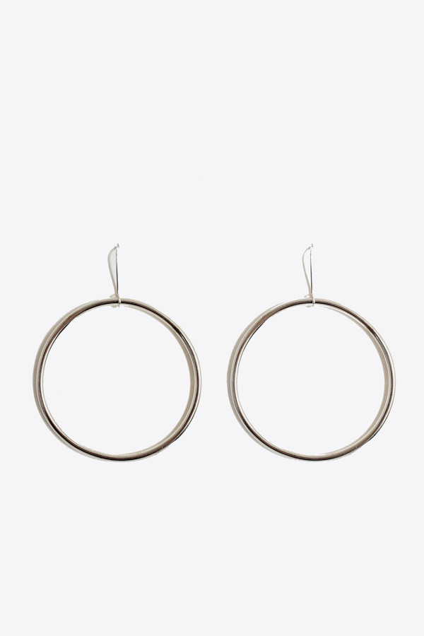 The Things We Keep Sanjuu hoop earrings in sterling silver