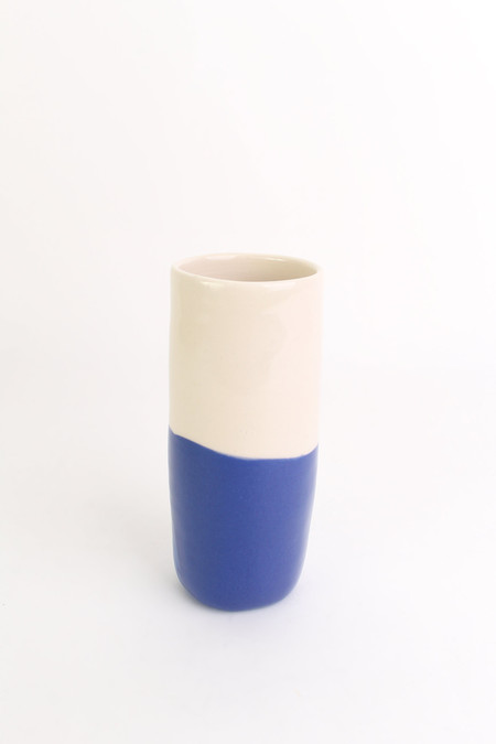BTW Ceramics Tall skinny vase