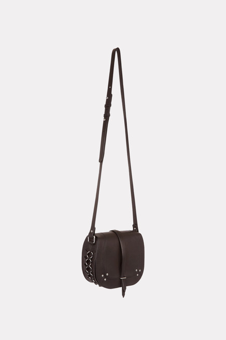 Jerome Dreyfuss Victor crossbody bag in black/silver