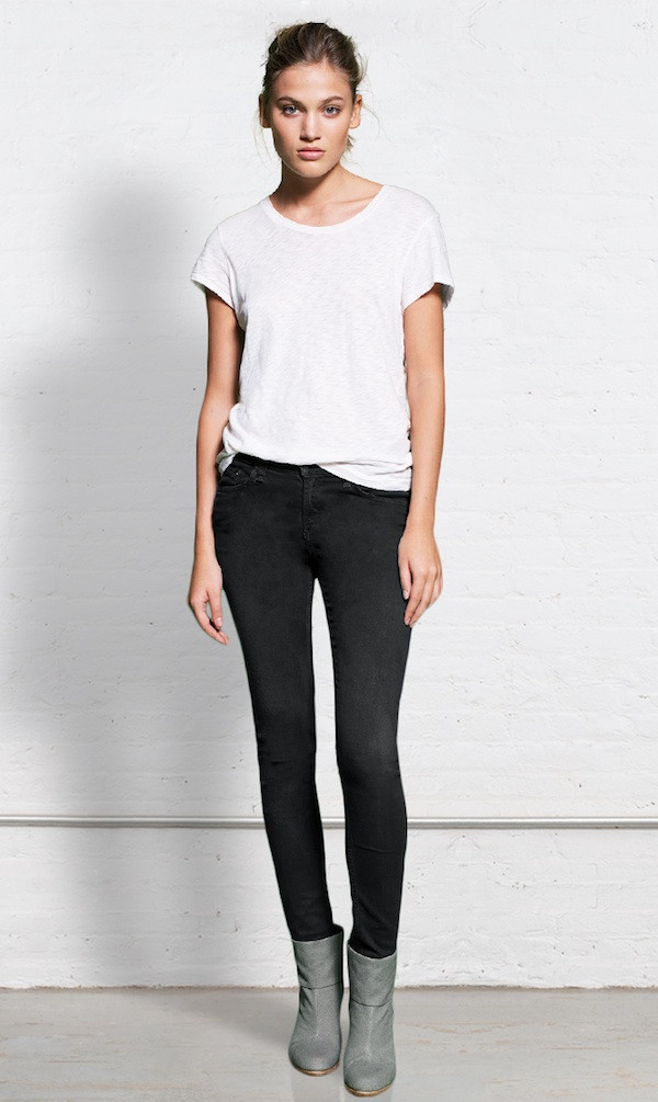 Rag & Bone - SKINNY DISTRESSED