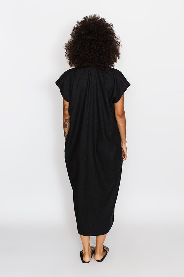 Miranda Bennett Everyday Dress, Oversized, Natural Silk Noil