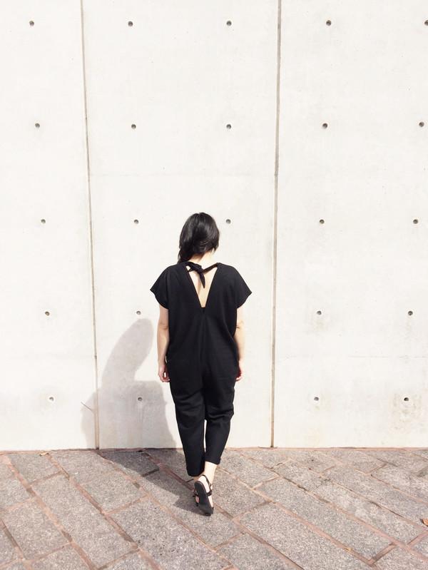 Miranda Bennett Everyday Jumpsuit, Natural Silk Noil