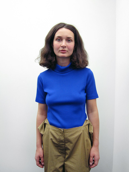 Nancy Stella Soto Short Sleeve Turtleneck, Electric Blue