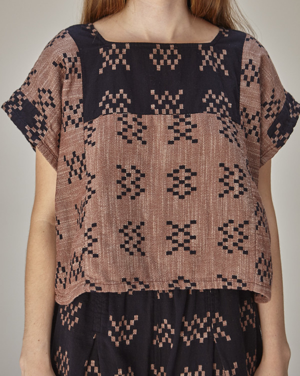 Ace & Jig Prudence Top in Black Sampler