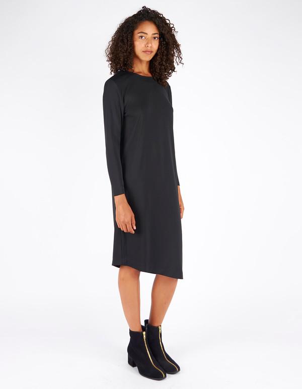 Filippa K Jersey Tunic Dress Black