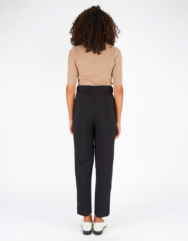 Ganni Clark Pants Black