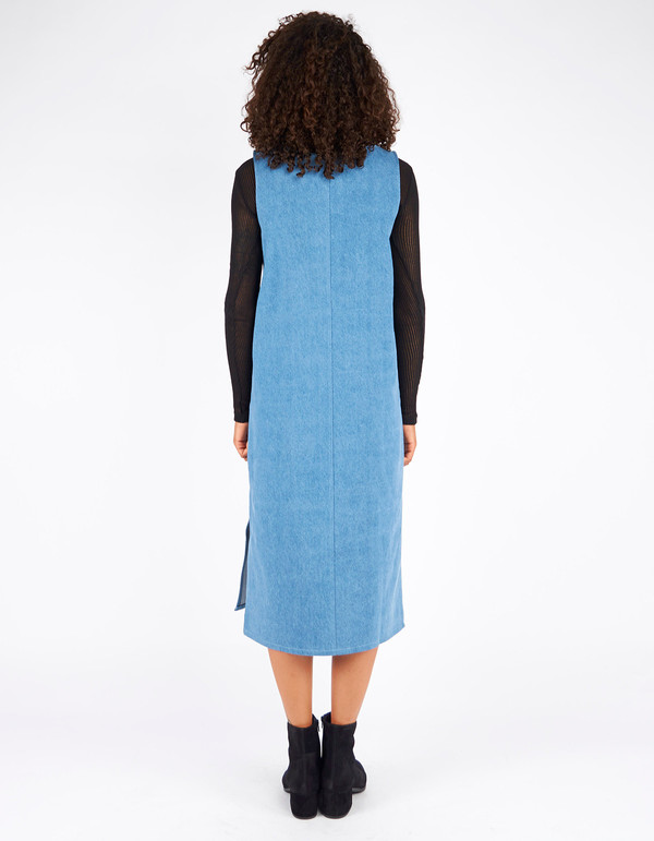 Ursa Minor Chao Dress Blue Wash