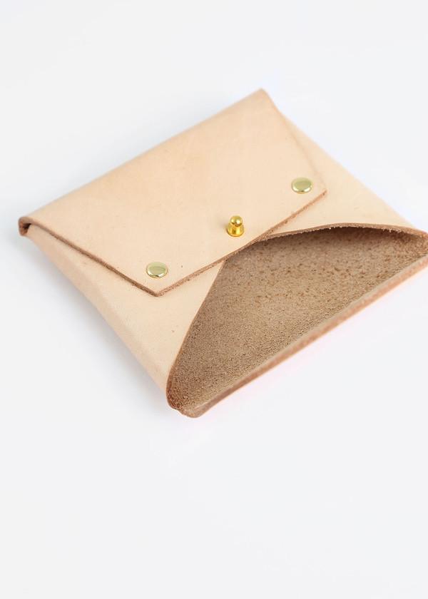 Sylvia Soo Leather Card/Coin Holder