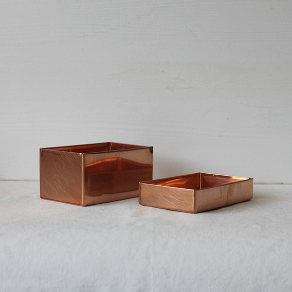 SyuRo Copper Box with Lid