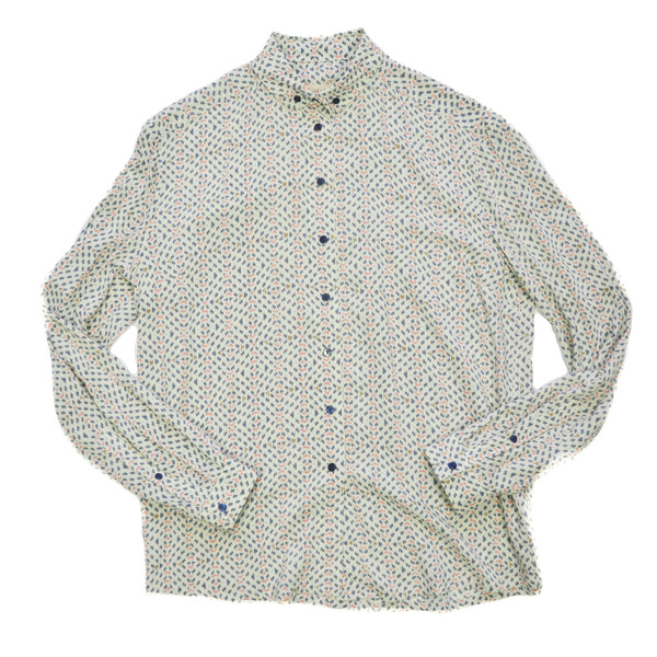 LBT LBT - BAND BUTTON DOWN / PATTERN PRINT