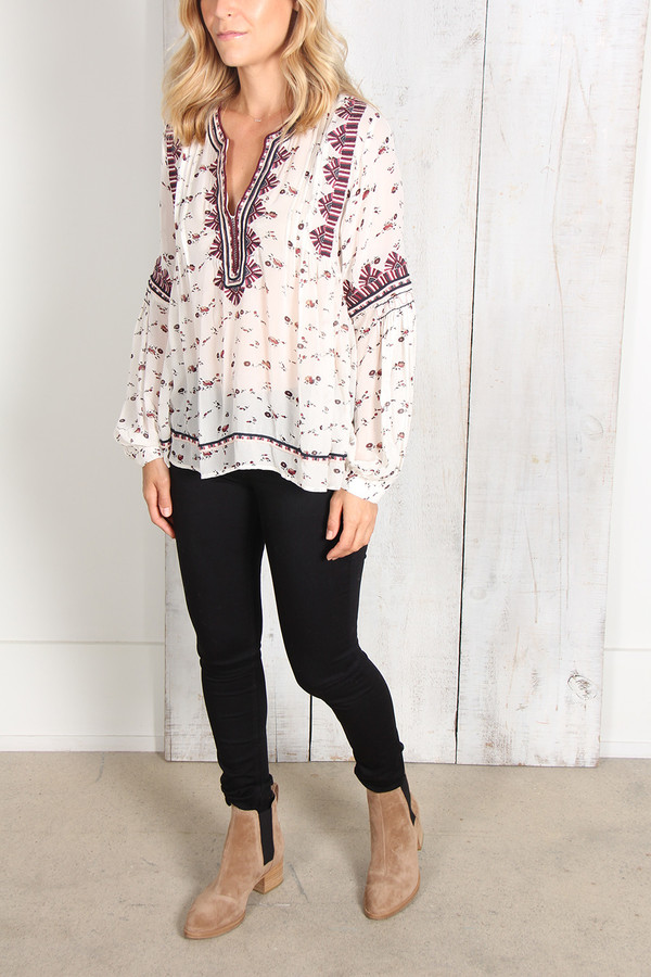 Ulla Johnson JAMILA BLOUSE