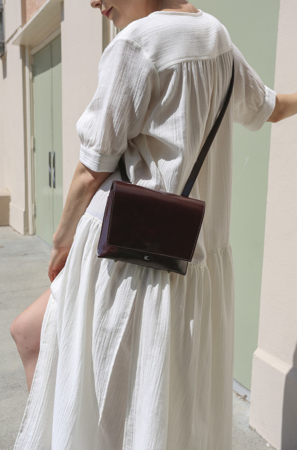 Rachel Comey Clue Bag in Bordo