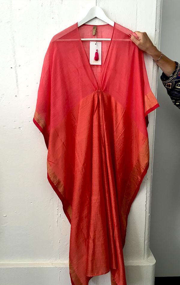 orange/red caftan