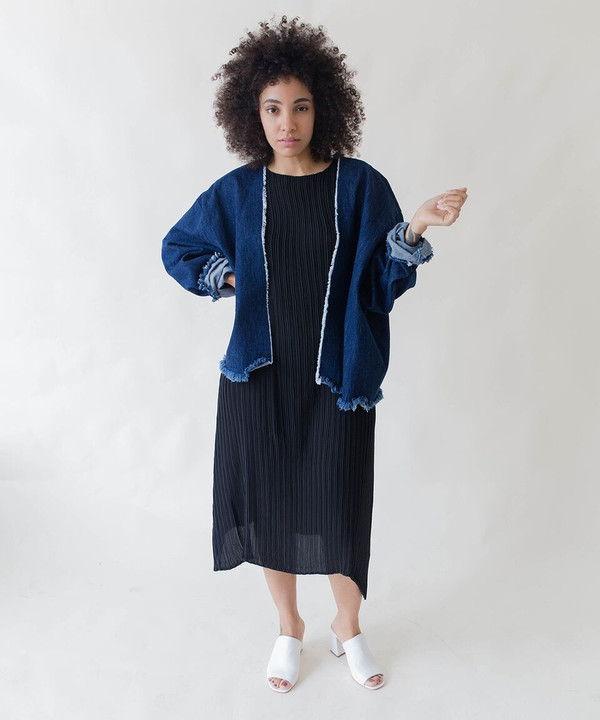 Ashley Rowe Short Robe Coat