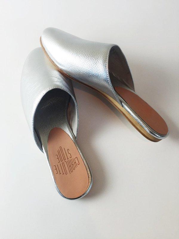 Charlotte Stone Drea Slider - Silver