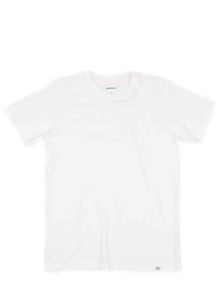 Norse Projects Niels Pocket Boucle White