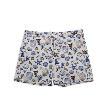 M. CARTER CO. Shells Board Shorts Shells/Bone