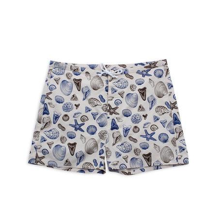 M. CARTER CO. Shells Board Shorts Shells/Bone