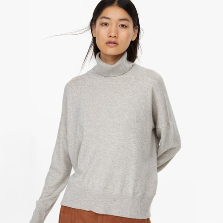 closed turtleneck