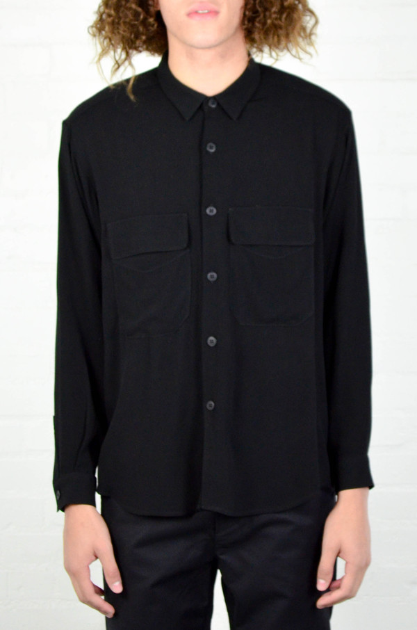 Assembly New York Assembly Crepe Poet Shirt