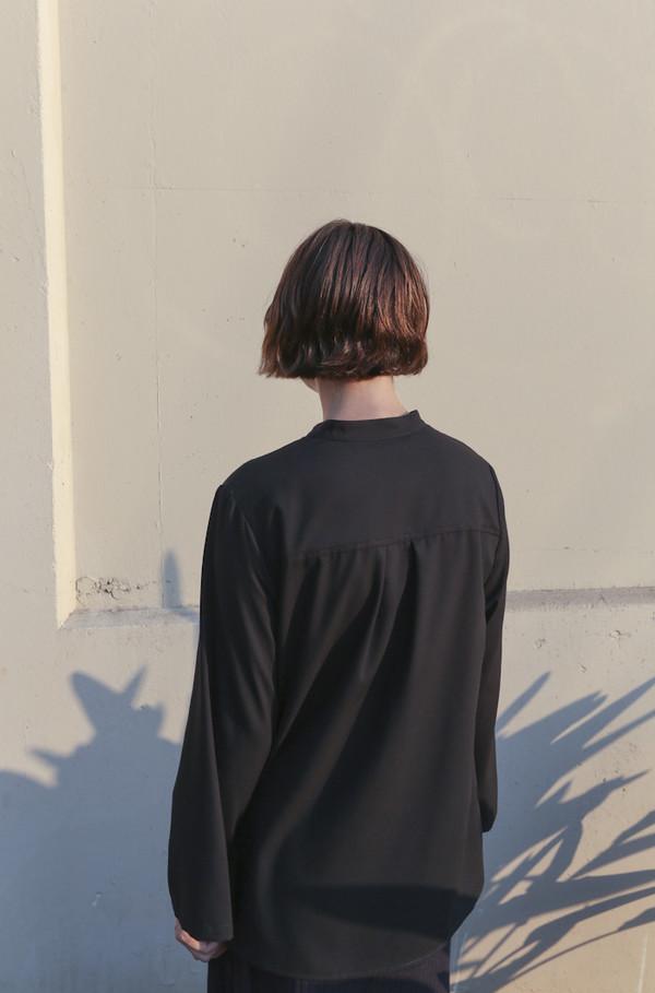 Wolcott : Takemoto Jim Blouse in Black