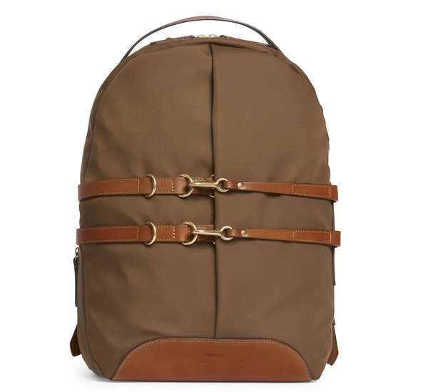 Sepia and Cuoio MS Sprint Backpack by Mismo
